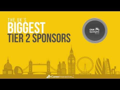 The UK's Biggest Tier 2 Visa Sponsors