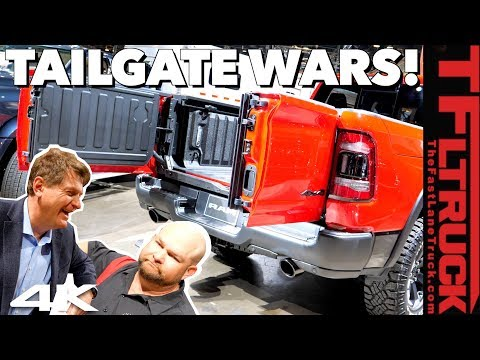 Ram vs GMC vs Ford vs Honda: What's the Best Fancy New Tailgate? No, You're Wrong! Ep.4