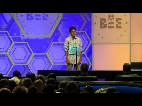 Gokul Venkatachalam at 2015 Scripps National Spelling Bee
