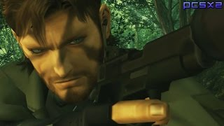 Metal Gear Solid 3: Snake Eater - PS2 Gameplay 1080p (PCSX2)