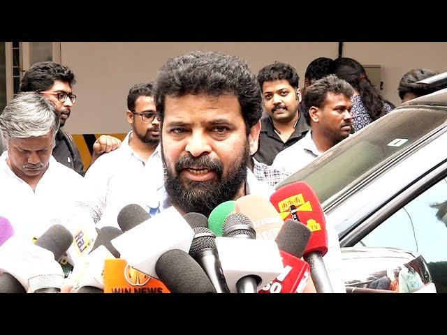 Ameer Speech On Vijay | Ameer Latest Press meet