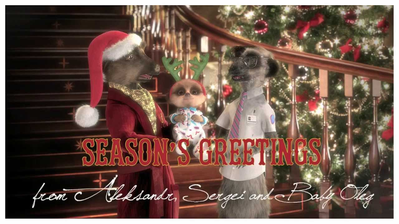 Compare The Meerkat Christmas Video Message From Baby