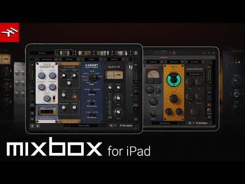 MixBox CS  for iPad - Limitless sonic options for your iPad