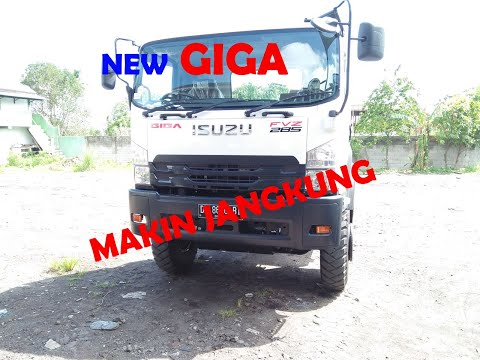 Review Isuzu New Giga FVZ34N ( 285PS ) 2018