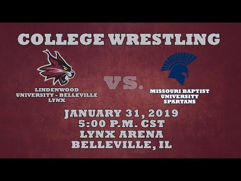 College Wrestling: Lindenwood University - Belleville Lynx vs. Missouri Baptist University Spartans