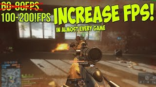 Battlefield 4: Dramatically increase performance / FPS with any setup (All games)