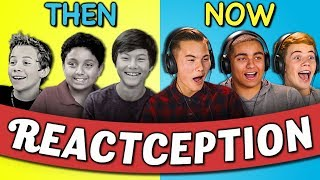 Video TEENS REACT TO THEMSELVES ON KIDS REACT! download MP3, 3GP, MP4, WEBM, AVI, FLV Desember 2017