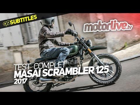 MASAI SCRAMBLER 125 | TEST COMPLET [SUBTITLES]