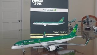 Gemini Jets 1:200 Aer Lingus 757-200WL Unboxing and Review