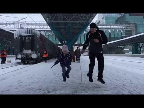 Самара, вокзал, скакалка: прыгающие пассажиры удивили жителей и гостей города