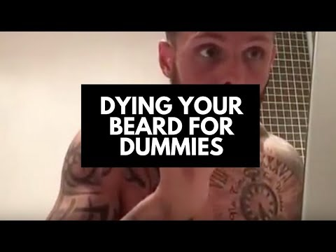 Dying your beard for dummies - YouTube