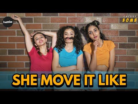She Move It Like - ONE Album   Freestyle Dance Choreography   Badshah, Warina Hussain  Cherry Bomb