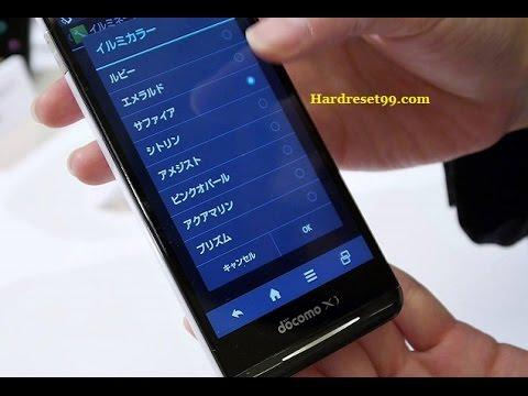 Sharp Aquos Phone EX SH 02F Hard reset, Factory Reset & Password Recovery
