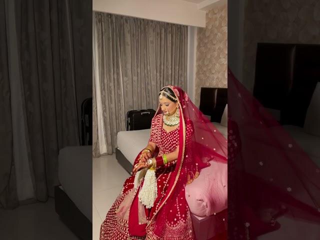 Bridal Photoshoot before Varmala #shorts