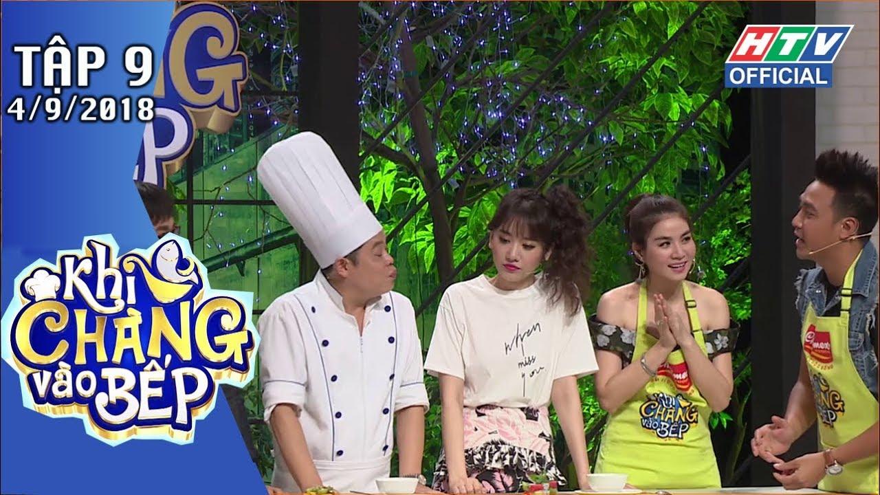 image HTV KHI CHÀNG VÀO BẾP | Hữu Tín nấu ăn theo hướng dẫn của Lê Giang | KCVB #9 FULL | 4/9/2018