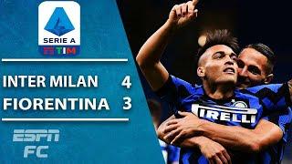 WHAT A COMEBACK! Inter Milan wins 43 thriller vs. Fiorentina | ESPN FC Serie A Highlights