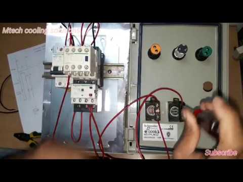 Single Phase Motor Wiring With 3 Phase Contactor And