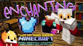 Minecraft 1.11 - ENCHANTMENT ROOM - Minecraft 1.11 Exploration Update Challenge [9]