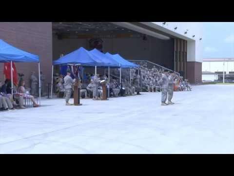 2nd Combat Aviation Brigade Change of Command Ceremony (2014)