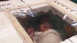 Un bebé prematuro sobrevive cinco meses en una nevera de poliespán