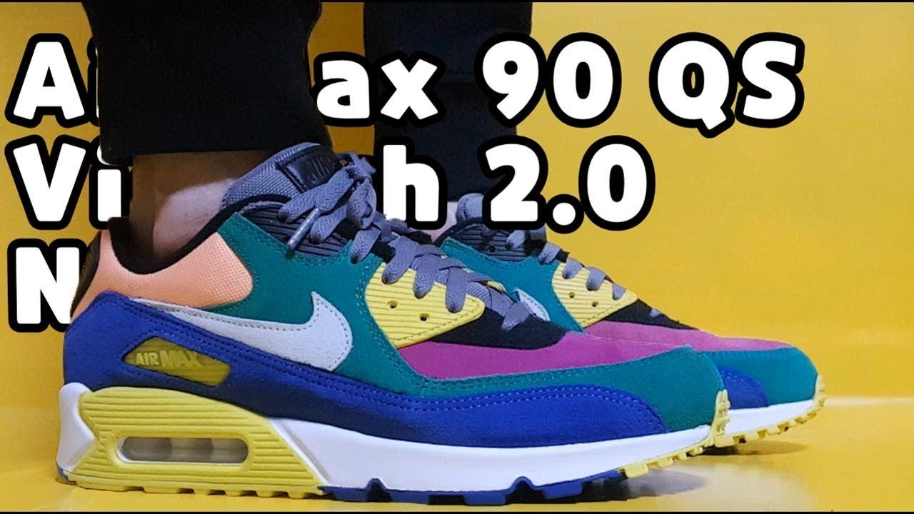"Nike Air Max 90 QS ""Viotech 2.0"" unboxingNike Air Max 90 review"