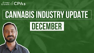 Monthly Cannabis Industry Update – December 2020