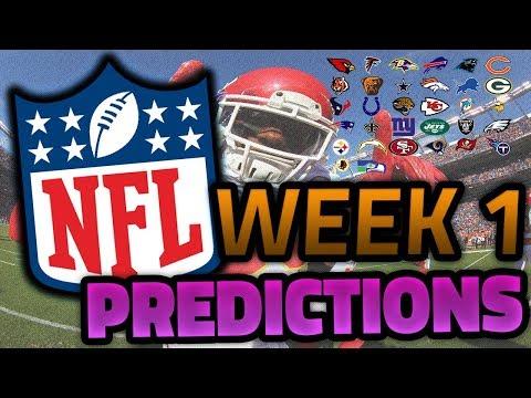 NFL WEEK 1 PREDICTIONS | 2018 SEASON