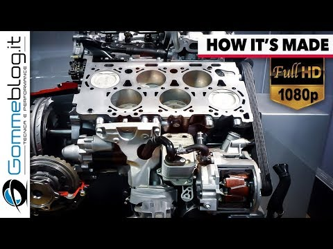 Thumbnail: ► Bentley Factory | W12 Engine - HOW IT'S MADE and How To .. Born W12 Engine - Making of Production