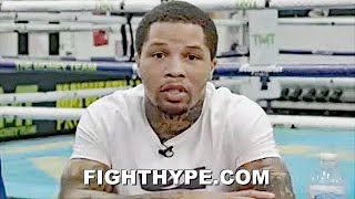 "GERVONTA DAVIS EXPLAINS MAYWEATHER ""BEING THERE"" HELP FOR SANTA CRUZ; GUARANTEES HE MAKES 130 WEIGHT"