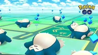 Pokemon Go (android):  let's catch a sleeping Snorlax with Yawn