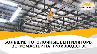 видео Где покупать вентиляторы потолочные промышленные