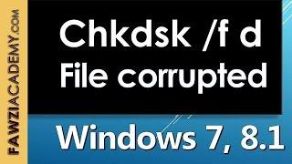 Emplacement fichier ou le répertoire est endommagé ne sont pas disponibles comment résoudre
