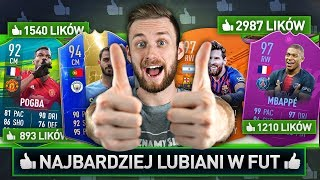 DRAFT NAJBARDZIEJ LUBIANYCH W FUT! | FIFA 19