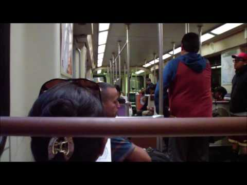 Metro Los Angeles: Red Line: Union Station - North Hollywood (Full Journey)