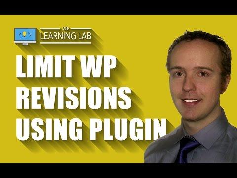Revision Control Using A Simple WordPress Plugin