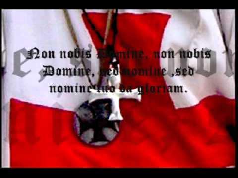 chant templier  (non nobis domine.. )