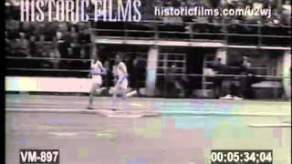 1955 - Sándor Iharos 1500m World Record of 3:40.8
