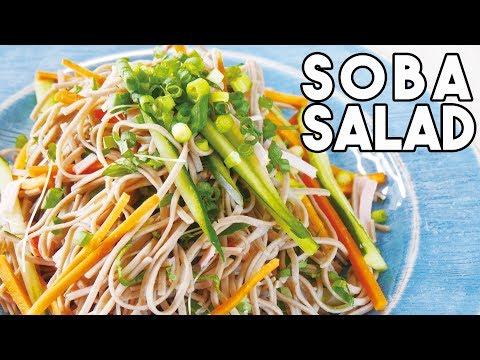 Soba Noodle Salad with Sesame Dressing