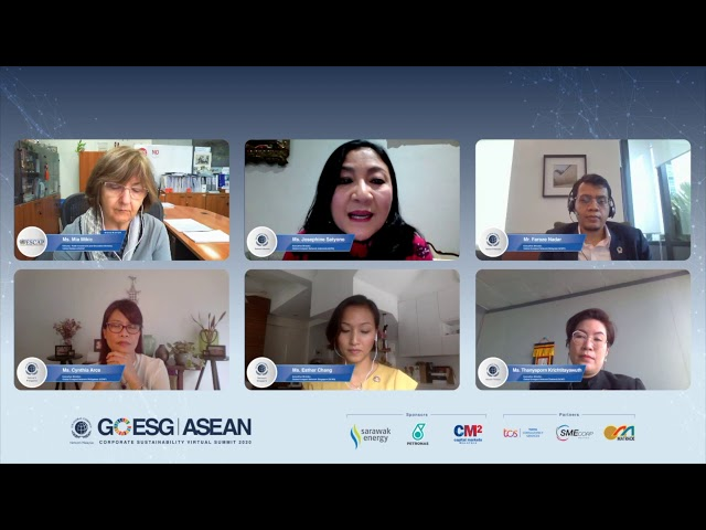 "Day 2: Parallel 2: ""Raising ASEAN Business Ambition for SDGs"""