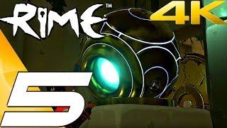 RIME - Gameplay Walkthrough Part 5 - The Temple [4K 60FPS]