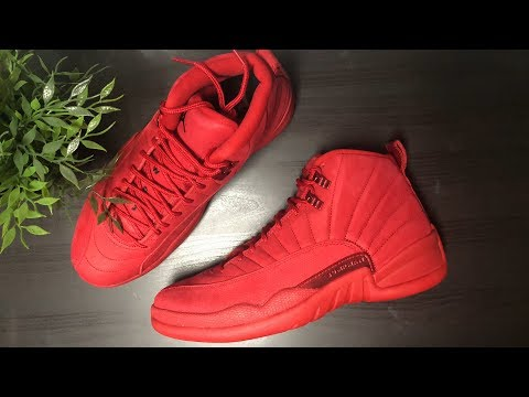 JORDAN 12 GYM RED: UNBOXING & REVIEW