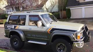 Nissan Safari Patrol, 1989, TD42 diesel, VRY60