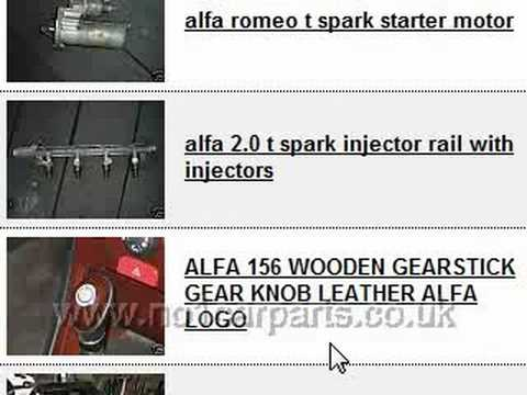 Where To Find Cheap Alfa Romeo Used Car Parts Online