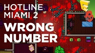 Hotline Miami 2: WRONG NUMBER First Look and Gameplay! E3 2013 (Sorta)