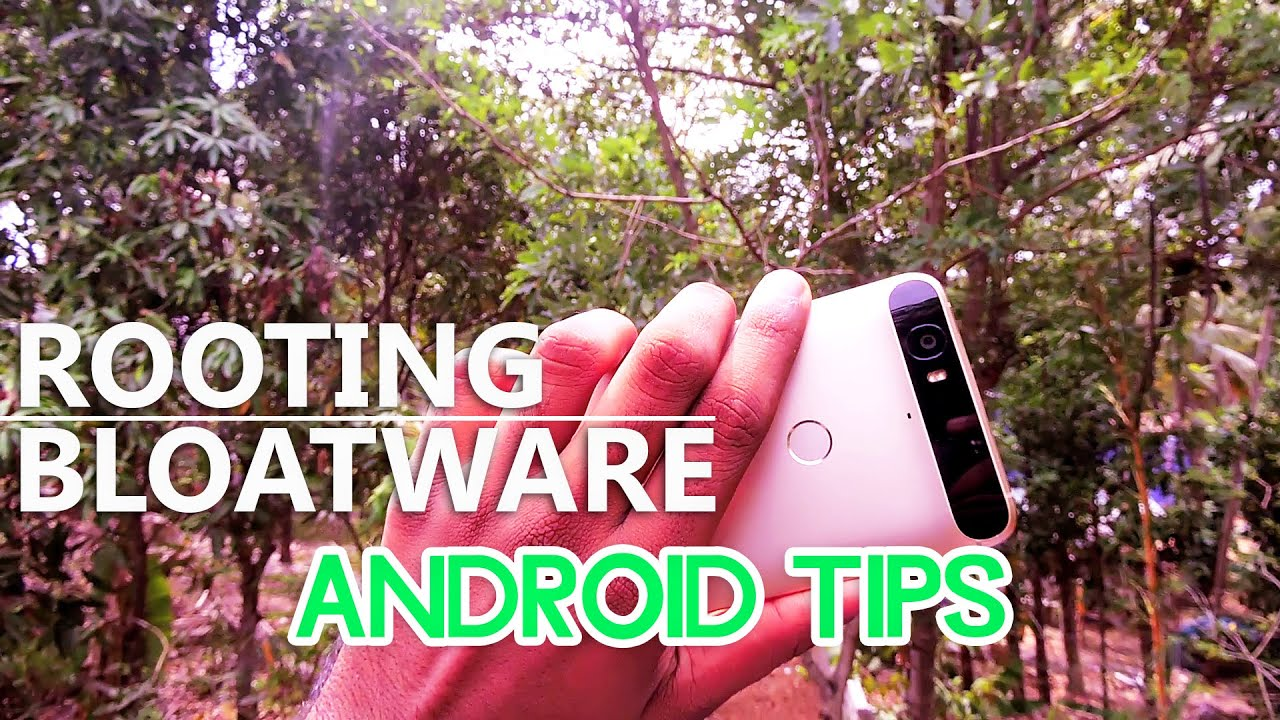 How to root, Uninstall/Remove Bloatware - Android Tips #1   MysterioTv