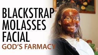 Blackstrap Molasses Facial | GOD'S FARMACY