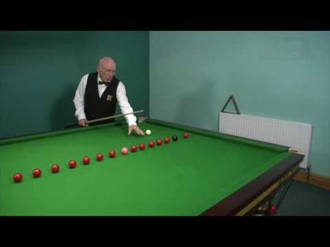 Cue Ball Control - A popular practice routine