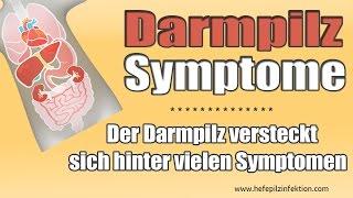 Darmpilz Symptome erkennen