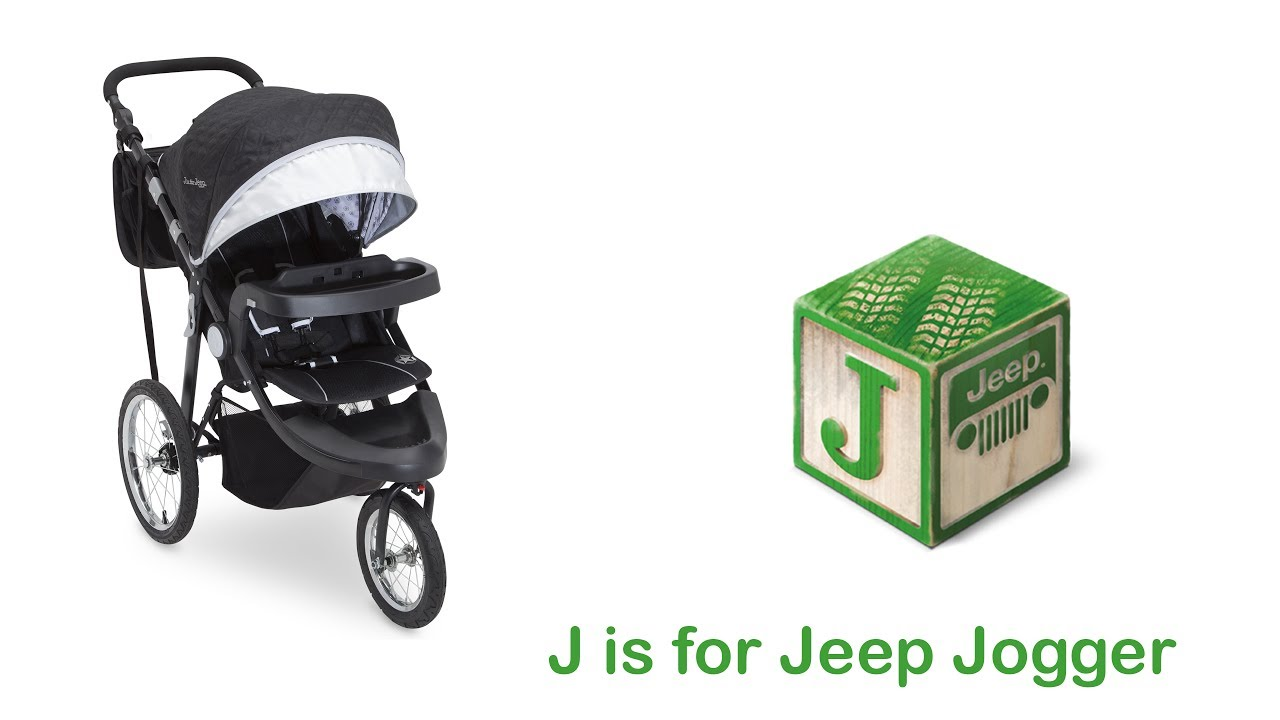 J is for Jeep Pock-It Stroller