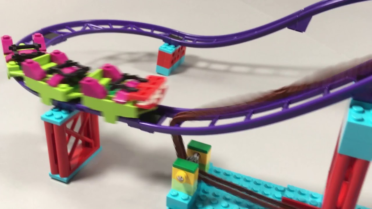 The Lego Roller Coaster System From 70922 Joker Manor Can